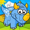 My baby first dino: dinosaur puzzle game for kids