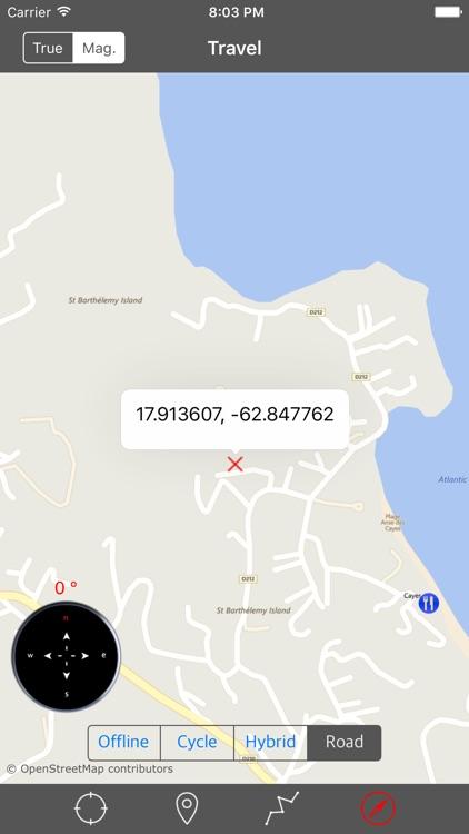 SAINT BARTHELEMY (St. Barts) – Offline Navigator screenshot-4