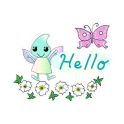 Butterfly-Fairy Cute Sticker