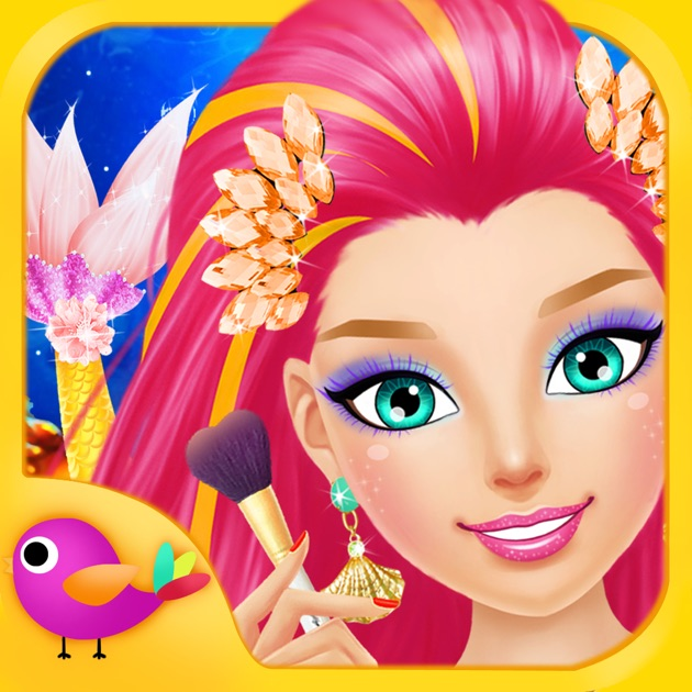 Mermaid Salon S Makeup Dressup And Makeover Games On The App Haircuts Barbie Beauty Styler Pc