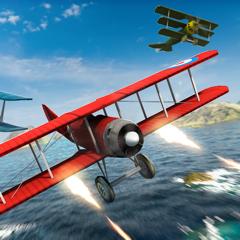 Aircraft War Mission Meilleur Jeux de Avion 3D pour Enfants Gratuit