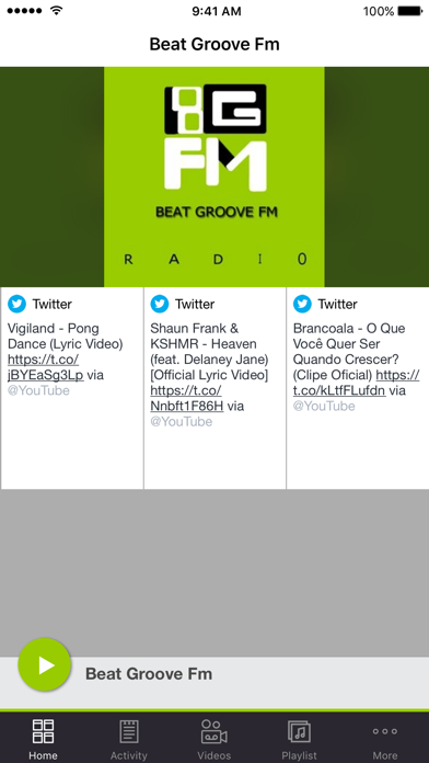 Beat Groove Fm screenshot one