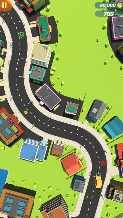 Finger Car Driver Dash screenshot four