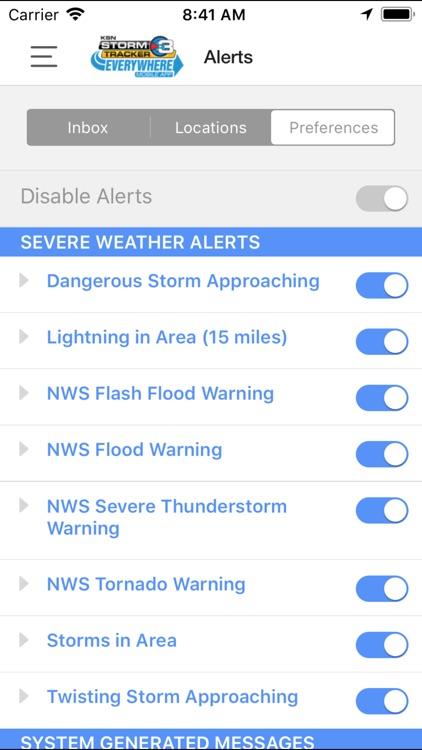 KSN Storm Tracker 3 screenshot-3