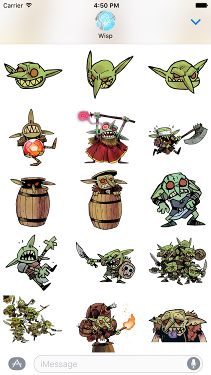 Vast: The Crystal Caverns Stickers