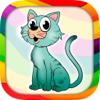 أرسم و لون القطط – كتاب تلوين الحيونات مع قطط ظريفة للأطفال