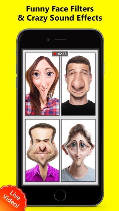 Face Filters For Snapchat Video Effects Lenses App Reviews - User
