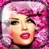 花冠 髮型 花卉 & 化妆步骤 化妆品 照片编辑软件 - 女人 款式 流行 相架 蒙太奇