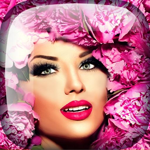 Flower Crown Style Pic Editor: Makeup & Hair Salon