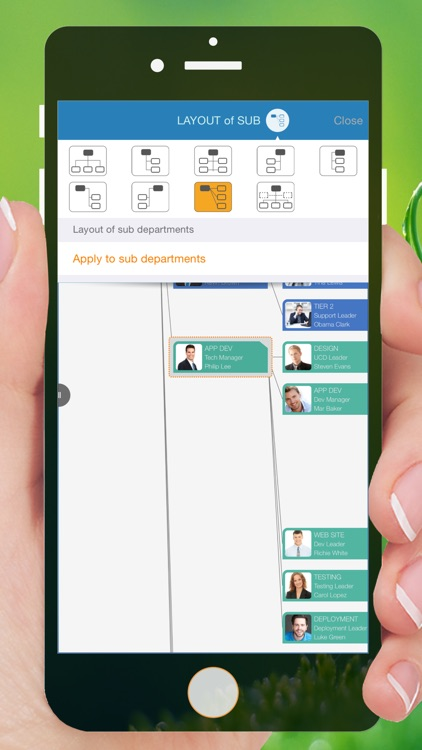 OrgChart - Organization Chart & Contact Management screenshot-3