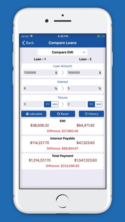 EMI Calculator - Loan Planner screenshot-3