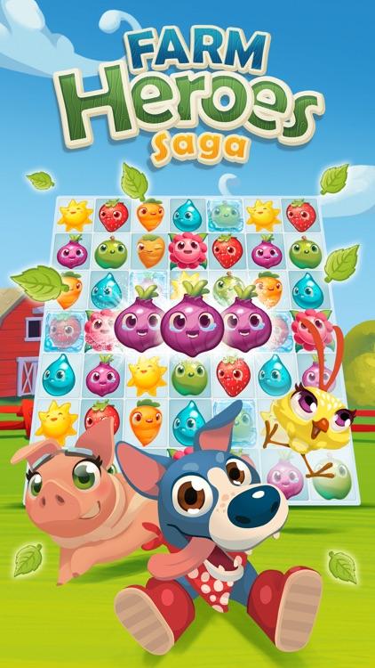 Farm Heroes Saga screenshot-4