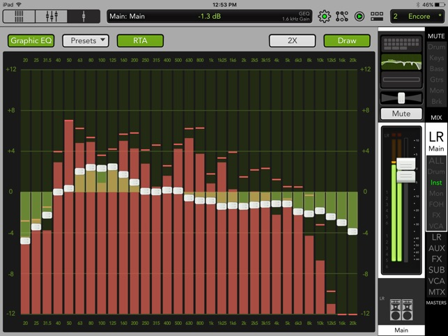 Mackie Master Fader 4 Screenshot