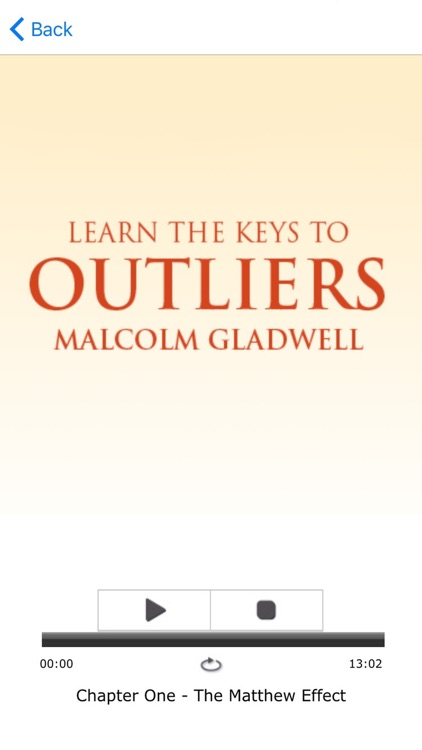 Outliers by Malcolm Gladwell Meditations Audiobook screenshot-3