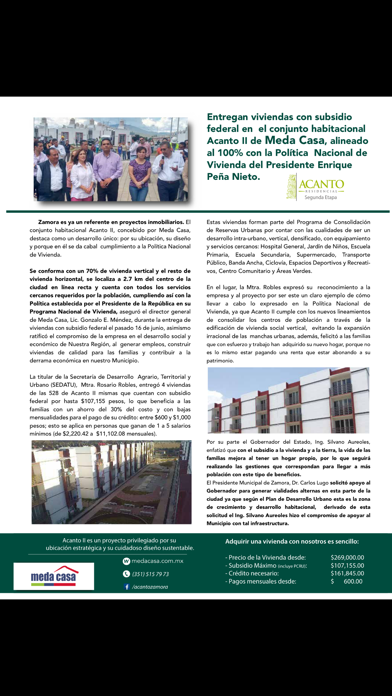 Revista Vivienda MagazineScreenshot of 5