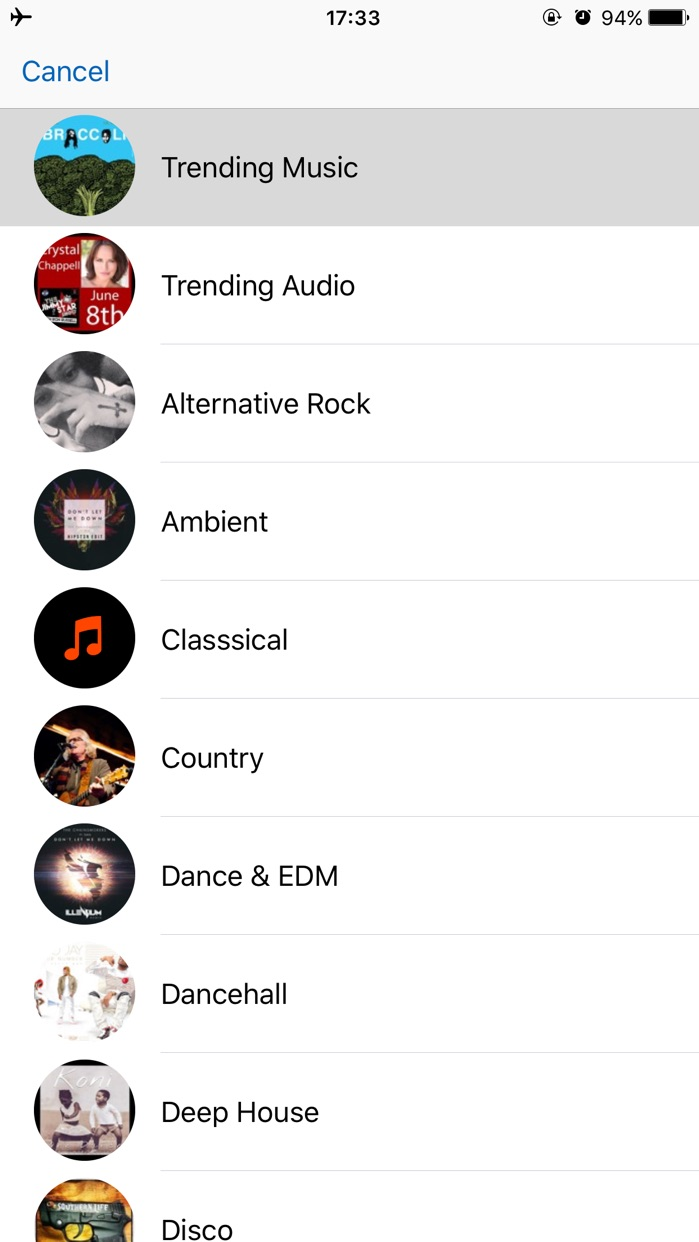iMusic Player Plus – Free Music Streamer and Playlist Manager! Screenshot