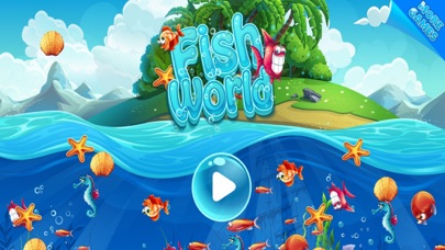 Fish world puzzle game pop blast app data review for Fish world games