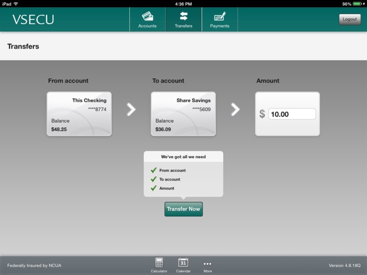 VSECU – Mobile Banking screenshot-3