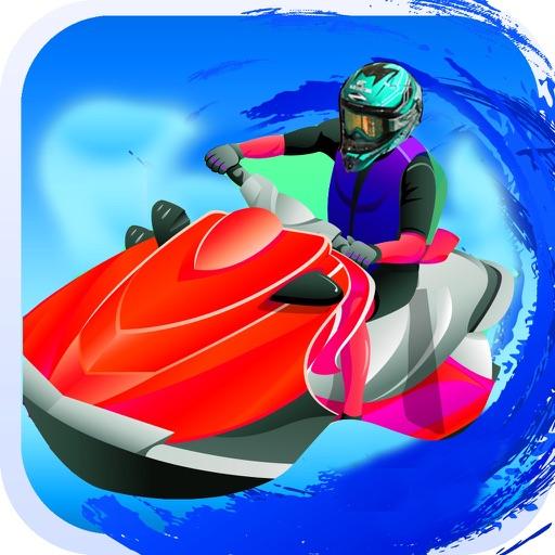 Jet Boat Water Racing Ski