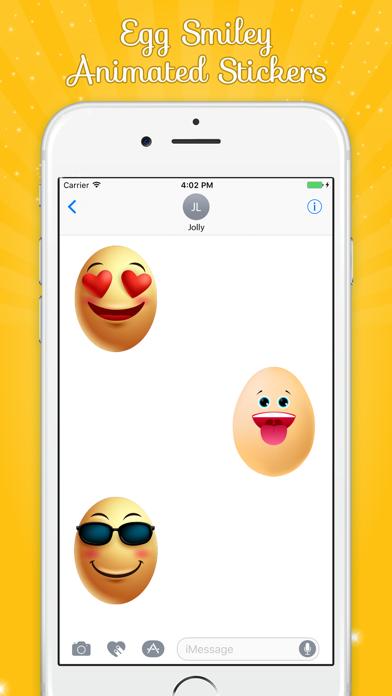 Egg Smiley Animated screenshot four
