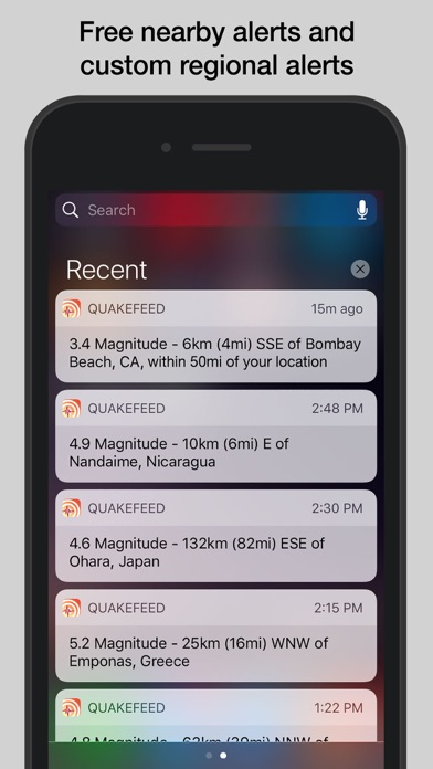 download QuakeFeed Earthquakes apps 1