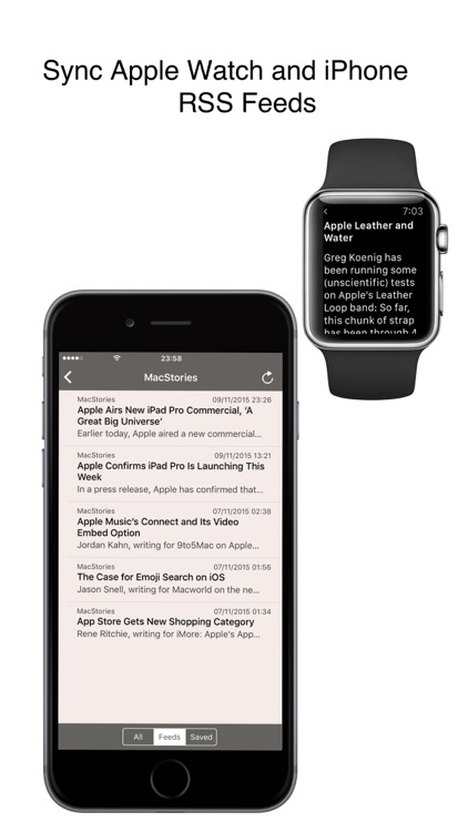 RSS Watch: Your RSS Feed Reader for News & Blogs screenshot-4