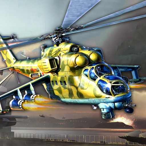 Apache Gunship 3D : Adventure Helicopter Battle Field