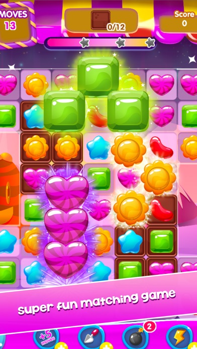 Candy Games Mania - New Sweet Match 3 Screenshot on iOS