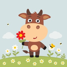 Animated Moody Cow