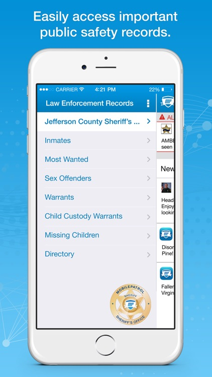 MobilePatrol: Public Safety App screenshot-0