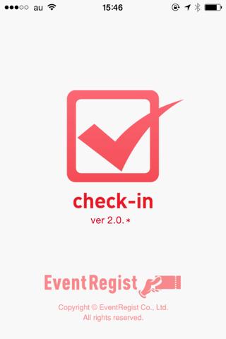 EventRegist チェックイン - náhled
