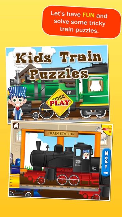 Locomotives: Train Puzzles for Kids