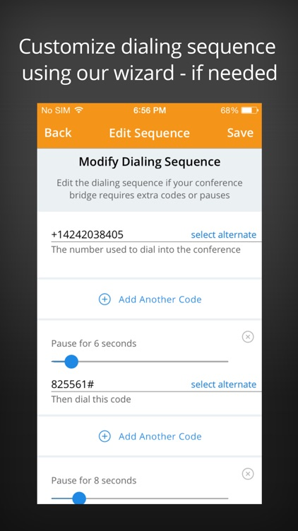 MeetingMogul – One Touch Free Conference Call App screenshot-4