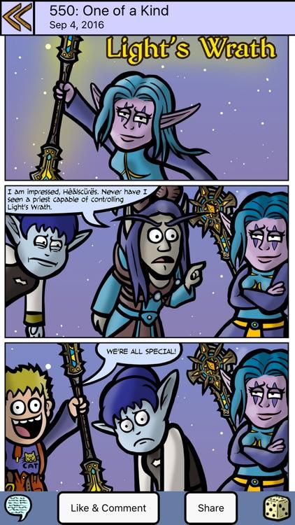 Dark Legacy Comics
