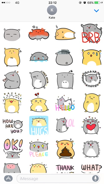 Chubby Hamsters