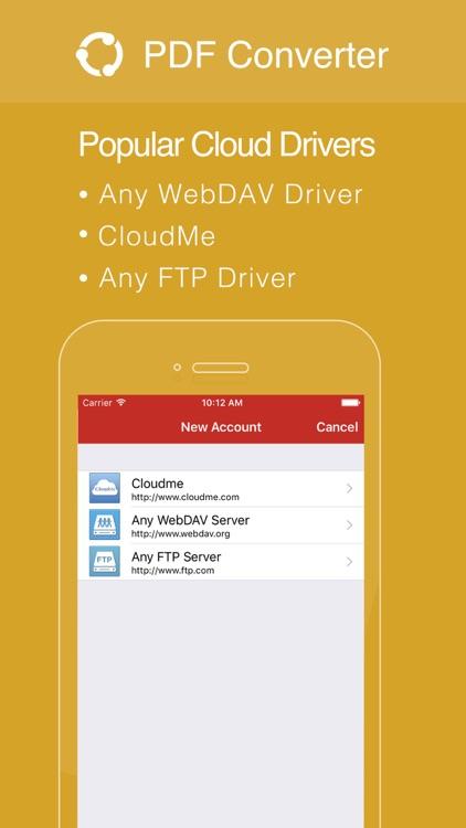 PDF Converter Pro - Convert PDF to Office Formats screenshot-3