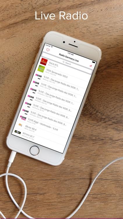 Germany Live FM tunein Radio: Deutschland Musik, Nachrichten, Sport Radios und Podcasts für Deutsch