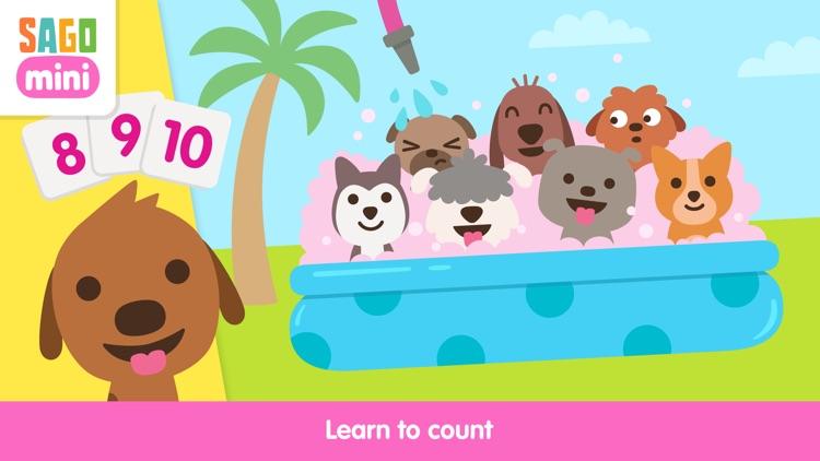 Sago Mini Puppy Preschool screenshot-0