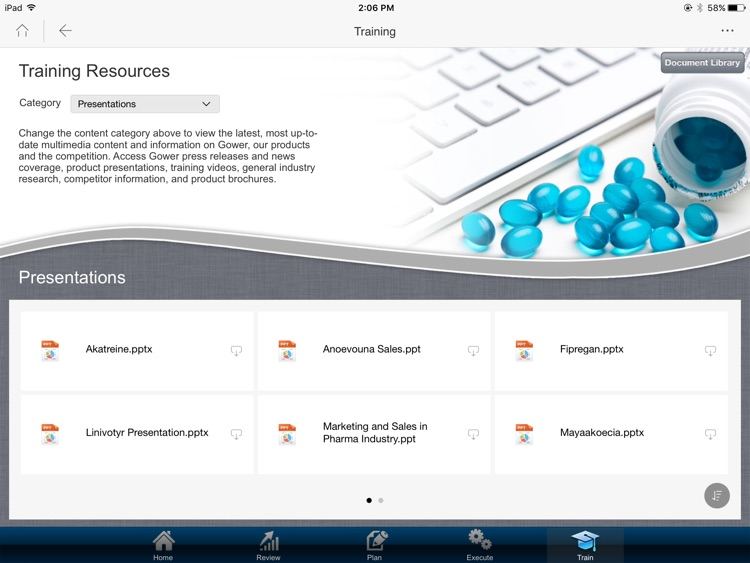 MicroStrategy Mobile for iPad screenshot-1