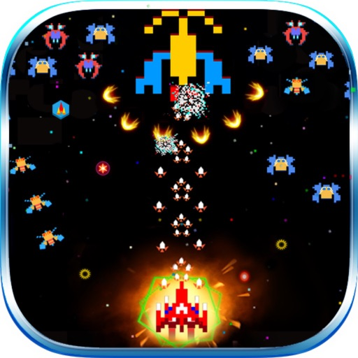 Space Shooter Chicken: War Ship icon