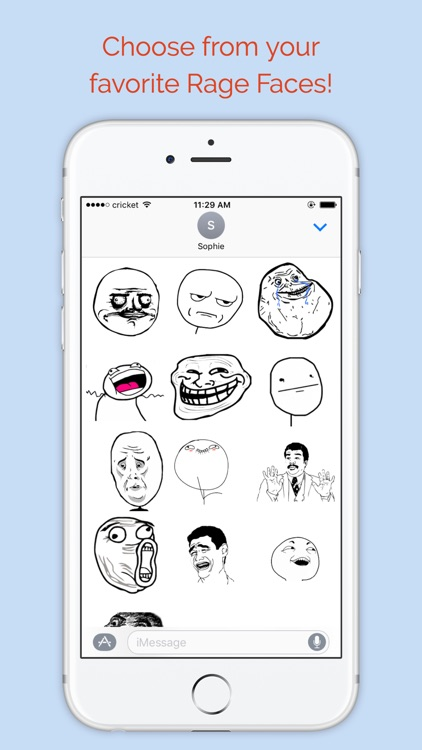 Memes - Generate memes with rage faces and text