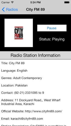 Pakistan Radio Live Player (Islamabad / Urdu / پاکستان ریڈیو