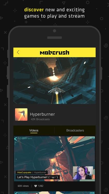 Mobcrush: Livestream Games screenshot-3