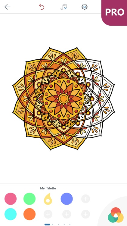 Mandala Coloring Pages for Adults PRO screenshot-4