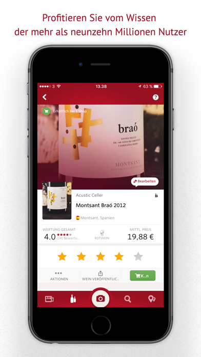 Screenshot for Vivino in Germany App Store