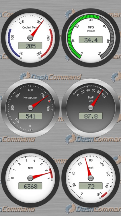 DashCommand - OBD-II gauge dashboards, scan tool app image