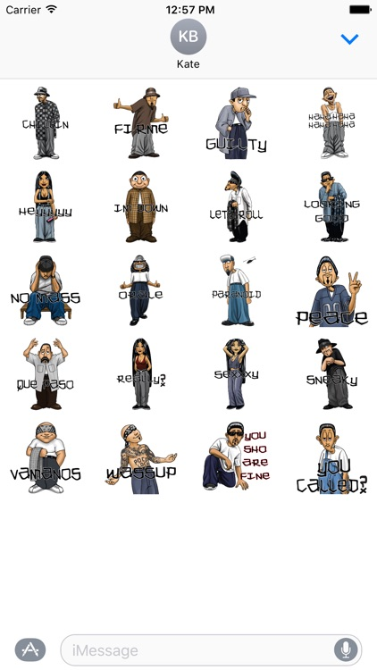 HomieMojis - Homie Avatars Stickers