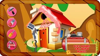 鳥の家を建てる - 小さなペット動物のための木の家を作る&それを飾ります紹介画像4