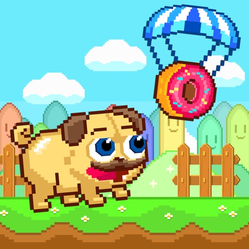 Pugs & Donuts - Pug Licker Arcade Shooter