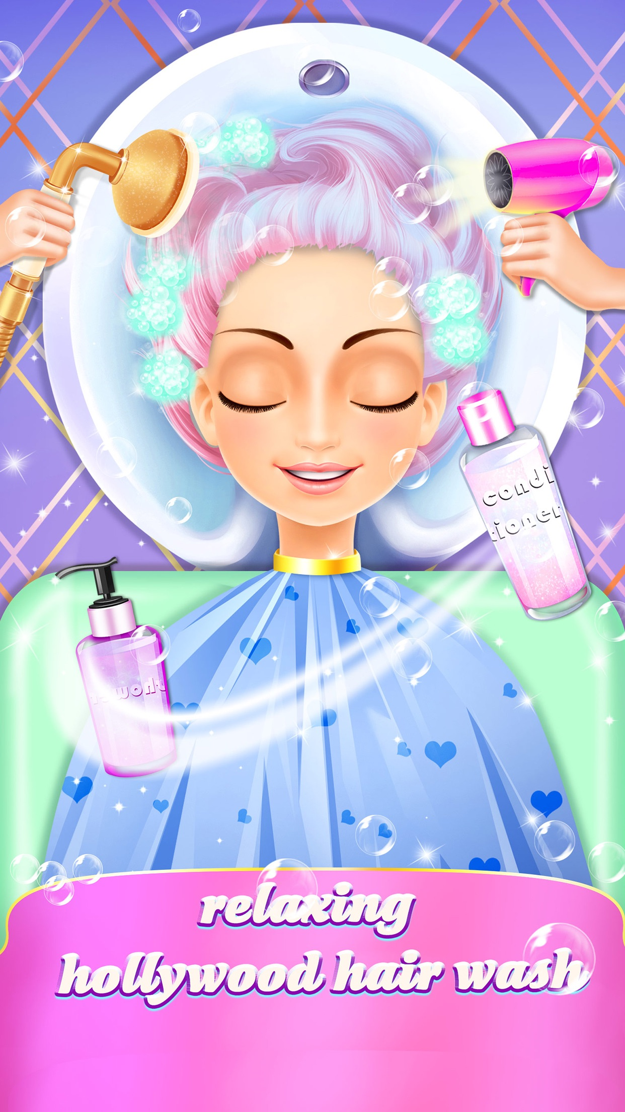 Fashion Evolution - Hollywood Star Hair Salon Screenshot